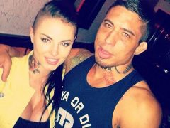 War Machine and Christy Mack