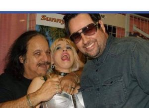 Diana Lynn Nelson with Ron Jeremy