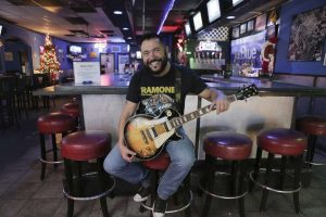 Charlie Wells Castellano, co-owner and bartender of Cockpit Bar & Grill