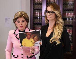 Gloria Allred Jessica Drake Donald Trump