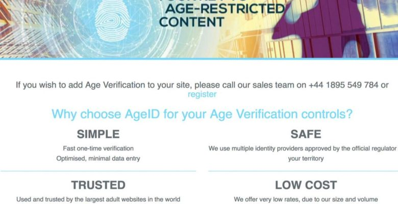MindGeek Steps Up to Solve UK Age Verification Dilemma with AgeID