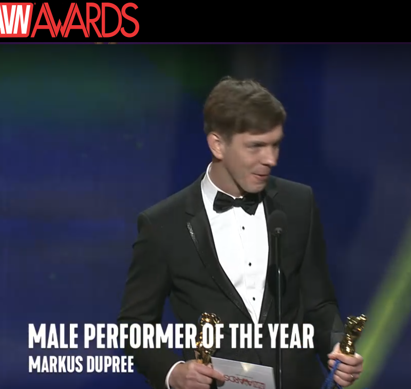 Male Performer of the Year - Markus Dupree