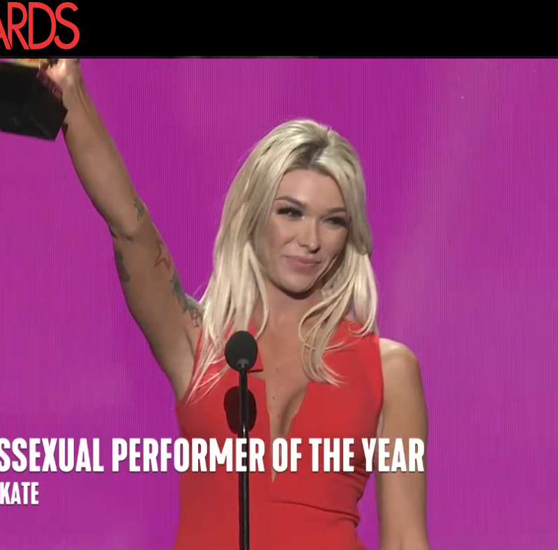 Transsexual Performer of the Year: Aubrey Kate