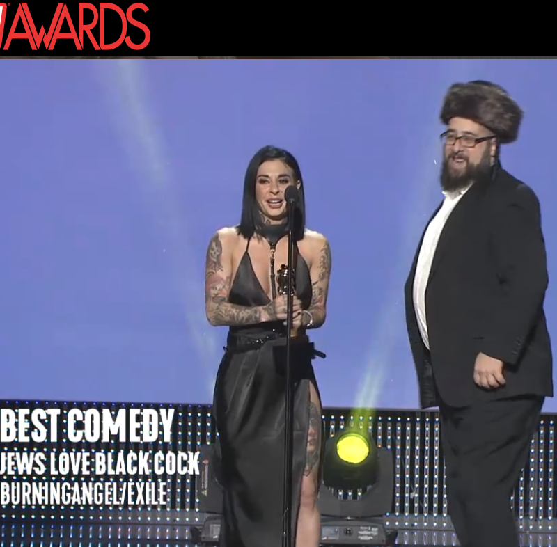 Best Comedy: Jews Love Black Cock, BurningAngel/Exile