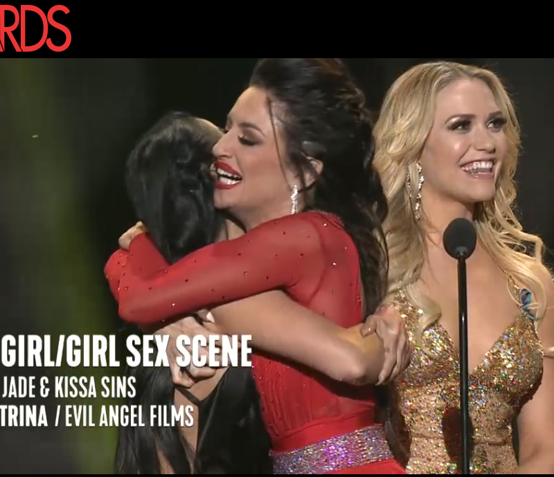 Best Girl/Girl Sex Scene: I Am Katrina, Evil Angel Films; Katrina Jade & Kissa Sins