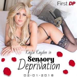 Kayla Kayla Does Her First DP!