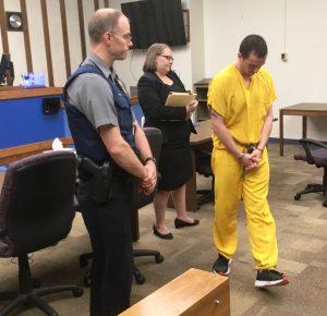 Gay porn star Logan Cruise a.k.a. Jordan Joplin pleads not guilty to murder charge