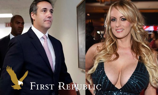 Trump Lawyer's Payment to Stormy Daniels Was Flagged and Reported as Suspicious by First Republic Bank