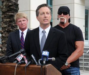 Charles Harder announces the filing of a lawsuit against Gawker Media, brought in 2012 by Hulk