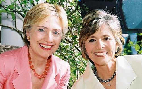 Hillary Clinton and Barbara Boxer