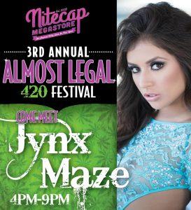 Celebrate 420 with Jynx Maze in Staten Island, New York