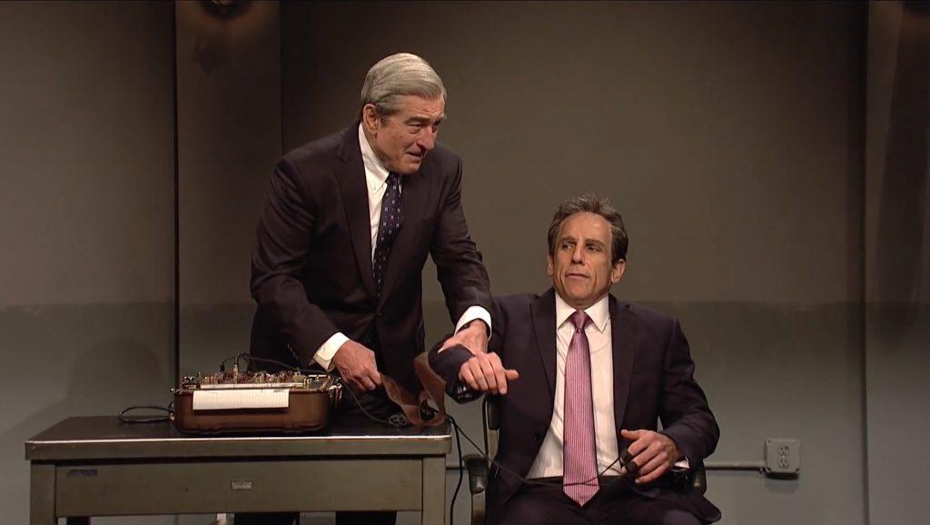 VIDEO - SNL's Michael Cohen skit starring Ben Stiller and Robert DeNiro