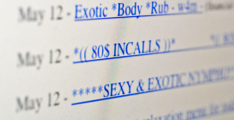 Slate looks at life for sex workers 'After Backpage'