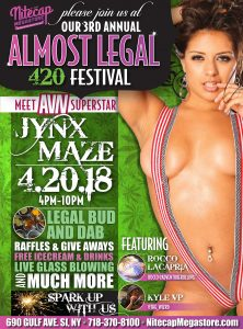 Celebrate 420 with Jynx Maze