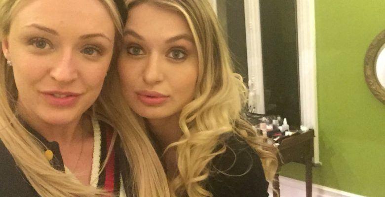Amber Deen with Natalia Starr
