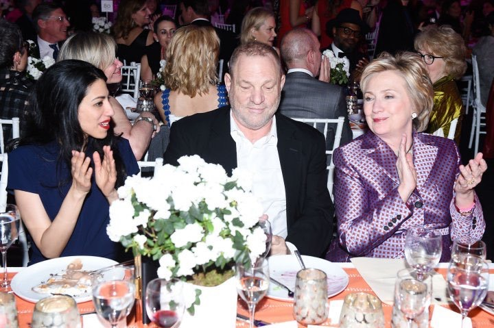 Be glad Hillary Clinton won't get a chance to pardon BFF Harvey Weinstein