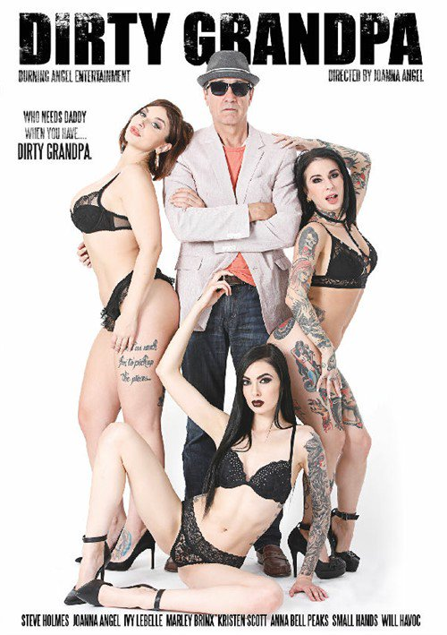Steve Holmes is 'Dirty Grandpa' - coming from BurningAngel June 18