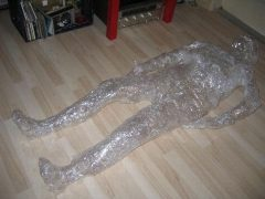 Man mummified alive in BDSM act gone wrong