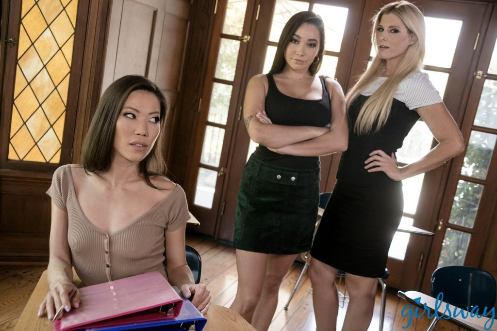 Girlsway/Mommy's Girl presents Parent-Teacher Secrets