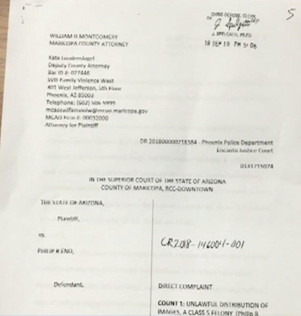 Former Phoenix Fire Captain facing revenge porn charges