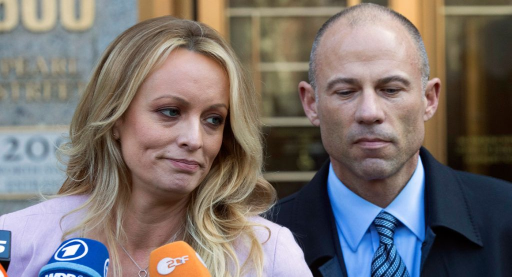Stormy not entirely supportive of Avenatti after 'troubling' DV charges; warns she will drop him if they're true