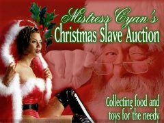 Mistress Cyan Presents the Xmas 'Slave Auction' Toy and Food Drive at Sanctuary LAX
