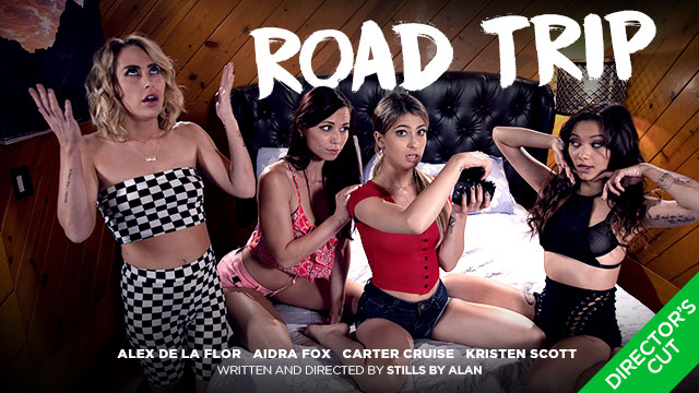 Kristen Scott Rounds Up the Girls for a Road Trip at Girlsway