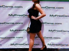 Sofi Moon at the AVN Awards 2019 in Las Vegas