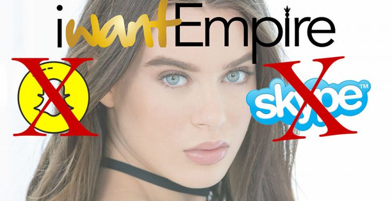 The IWant Empire Pulls Private Skype Shows and Premium SnapChat services to Porn Stars