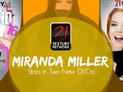 Miranda Miller Stars in Two New Movies from 21 Sextury