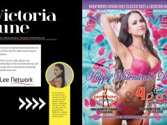 The Lee Network's Victoria June Featured in Exclusive Interview in February issue of Nightmoves Magazine