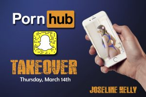 Joseline Kelly Does a @PornHub Snapchat TakeOver on Thursday