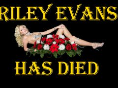 Porn Star Riley Evans Died #RIP