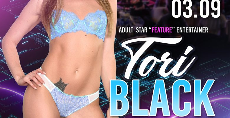 Tori Black Heats up the stage at Sapphire Las Vegas on Saturday Night