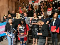 Sex workers, lobbying at NY Capitol in Albany, seek more safety, less stigma