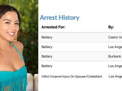 Maya's Been Bad: Porn Starlet Maya Bijou Arrested for FIVE Violent Crimes in Past Year
