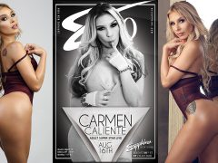 Enjoy a One Night Stand with Carmen Caliente at New York's Sapphire 60 Friday, Aug. 16